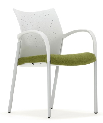 Trillipse Chair With Arms Light Grey