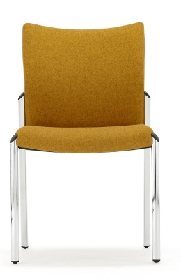 Trillipse Chair Fully Upholstered Front View