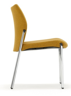 Trillipse Chair Fully Upholstetred Side View