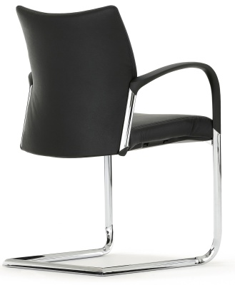 Trillipse Chair With A Cantilever Frame And Arems Rear Angle Shot
