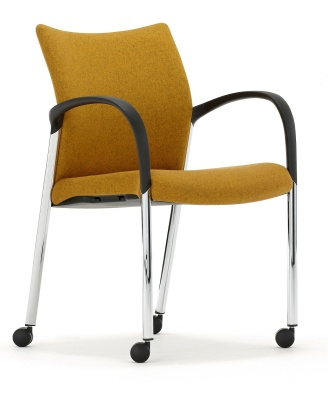 Trillipse Mobile Conference Armchair Front Angle View