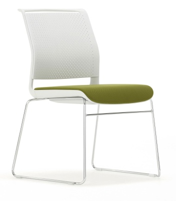 Ad Lib Conference Chair Front Angle
