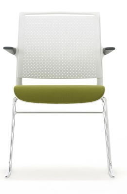 Ad Lib Conference Chair With An Upholstered Seat And Arms Faciong