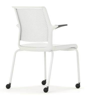 Ad Lilb Mobile Conference Arm Chair Rear Angle