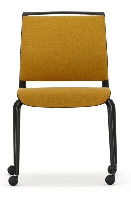 Ad Lib Fully Upholtered Chair Front Face