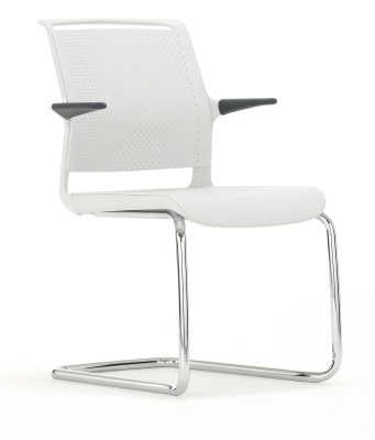 Adlib Conference Arm Chair Front Angle