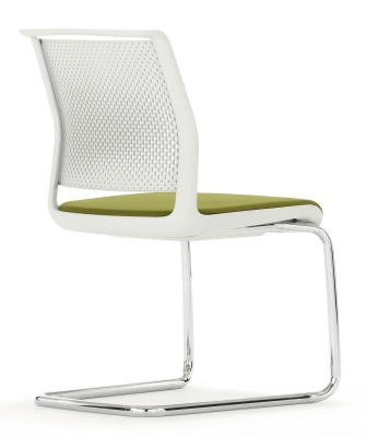 Ad Lib Conference Chair Rear View Cantilever