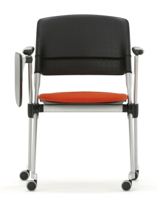 Pyramod Chair Front Facing With A Riting Tablet