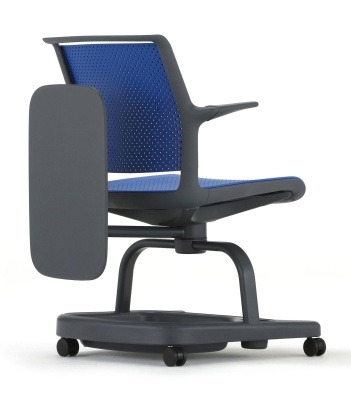 Adlib Scholat Chair In Blue Front Angle