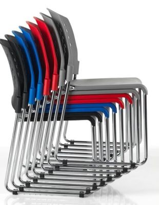 Dotty Stackable General Purpose Chairs In A Range Of Colours