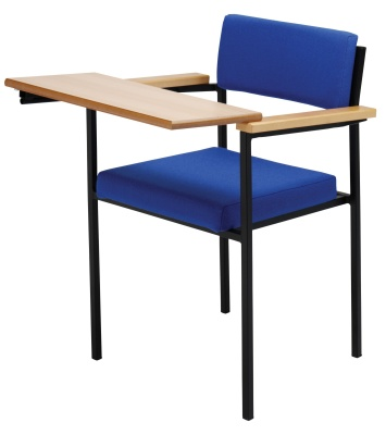 Mumford 19 Conference Chair With Writing Tablet