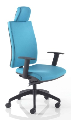 Track Plus Erghonomic Chair With A Black Base