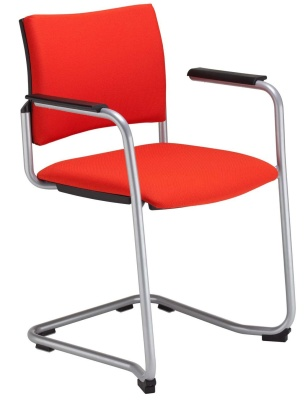 Insight Cantilever Chair Front Angle