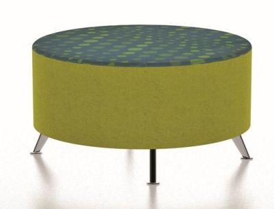 Large Round Circular Stool With Legs