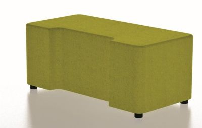 Bondai Two Seater Bench With Cut Out