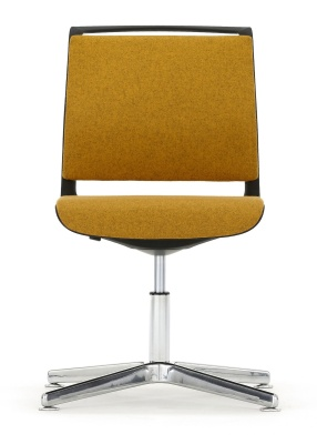 Ad Lib Fully Upholstered Four Star Conference Chair With A Four Star Base