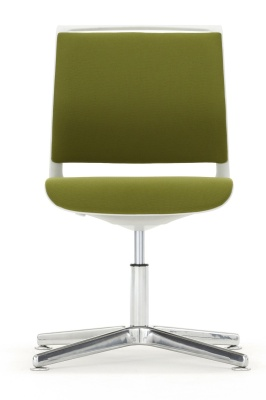 Ad Lib Fully Upholstered Four Star Conference Chair Front Shot