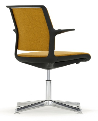 Adlib Four Star Conference Arm Chair Reat View Angle
