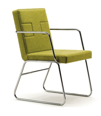 Melba Designer Cantilever Arm Chair