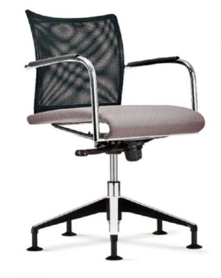 Castella Swivel Confeernce Chair With A Mesh Back