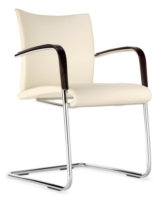 Castella Fully Upholstered Cantilever Conference Chair