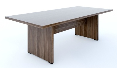 Mito Boardroom Table Dark Sycamore
