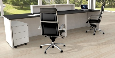 Cadiz Reception Desk Rear View