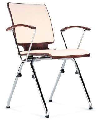 Axo Conference Chair With Seat Pad And Back Pad