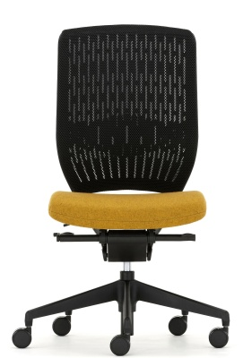 Evolve Task Chair Black Mesh Black Kbase