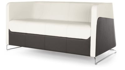Granite Three Seater Sofa Front Angle
