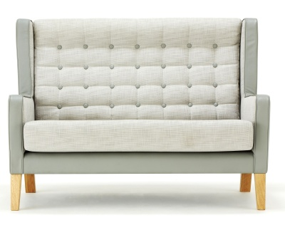 Grainger Luxury Wingback Sofa Front View