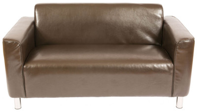 Walsall Two Seater Leather Sofa
