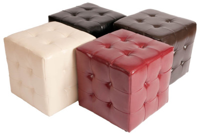 Quilted Leather Cubes