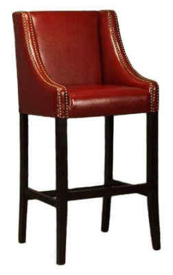 Rockwell Leather Bar Stools