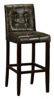 Torrington Quilted Leather Bar Stools