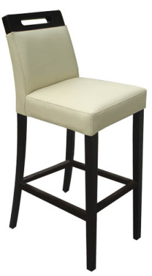 Rumwell Leather Bar Stool