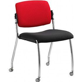 Alina Conference Side Chair With Castors