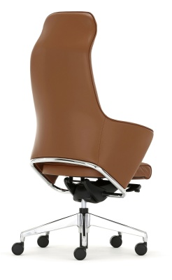 Rhapsody Executive Chair High Back Rear Angle Shot