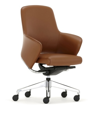 Rhapsody Medium Back Chair Front Angle