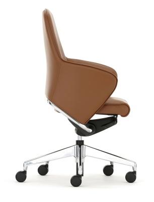 Rhapsody Medium Back Chair Side Angle
