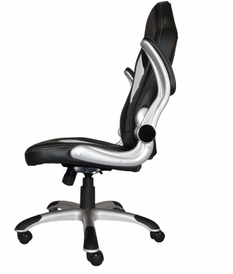 F1 Racer Executive Chair Side View