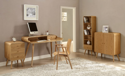 PC702 Pedestal Desk Room Setting