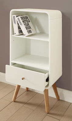 Memo Mid Height Bookcase Lifestyle Shot