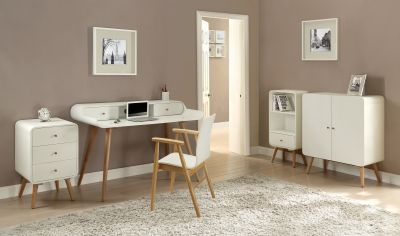 Memo White Furniture Room Setting
