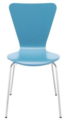 Keeler Blue Chair Front Facing