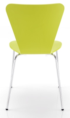 Keeler Plywood Chair Back Angle