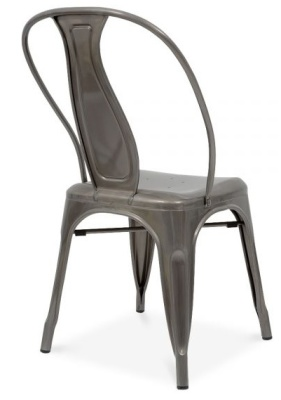 Vintage Style Xavier Pauchard Chair Rear Angle