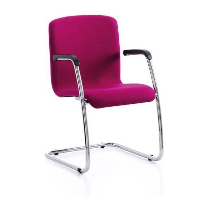 Sienna Conference Chair Front Angle