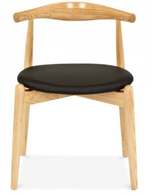 Elbow Chair With A Round Seat FACING