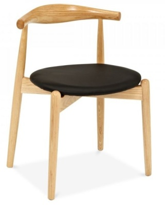 Elobopw Chair With A Round Seat Front Angle